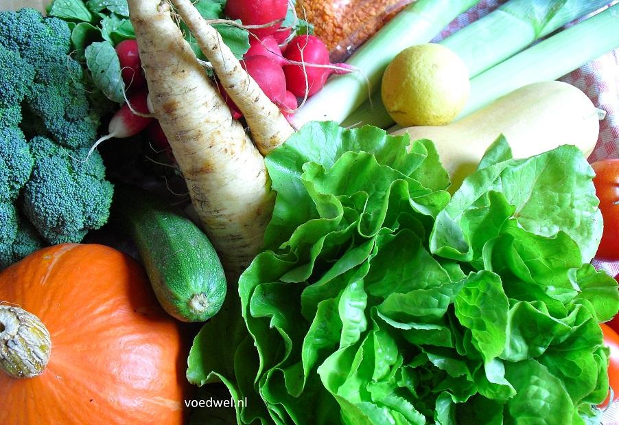 Voedwel, natuurlijk voedingsadvies, natuurvoedingskundige, groentenkalender