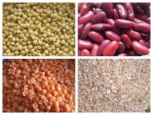 Voedwel, natuurlijk voedingsadvies, granen en peulvruchten