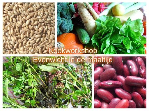 Voedwel, natuurlijk voedingsadvies, kookworkshop Evenwicht