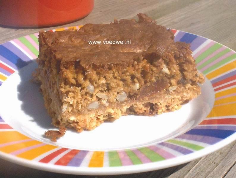 -Abrikozen-haverkoek met gedroogde abrikozen