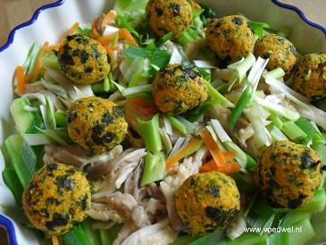 Voedwel, natuurlijk voedingsadvies, Aziatische salade