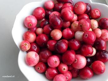 Voedwel, natuurlijk voedingsadvies, cranberry's