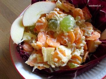 Voedwel, natuurlijk voedingsadvies, Waldorfsalade