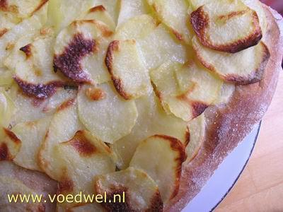 -Aardappelpizza