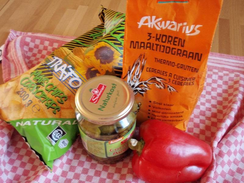 -Bonenschotel met tacochips