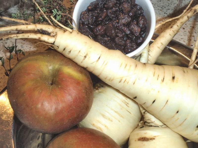 -Pastinaaksoep met appel