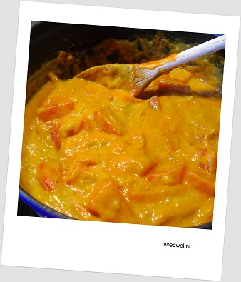 Curry met watermeloen