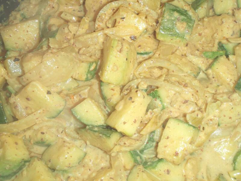 Courgettecurry