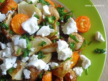 Meiraapjes met wortel
