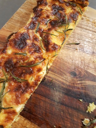 Voedwel, recept polenta rozemarijn