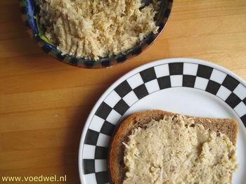 Selderij hazelnoten broodbeleg